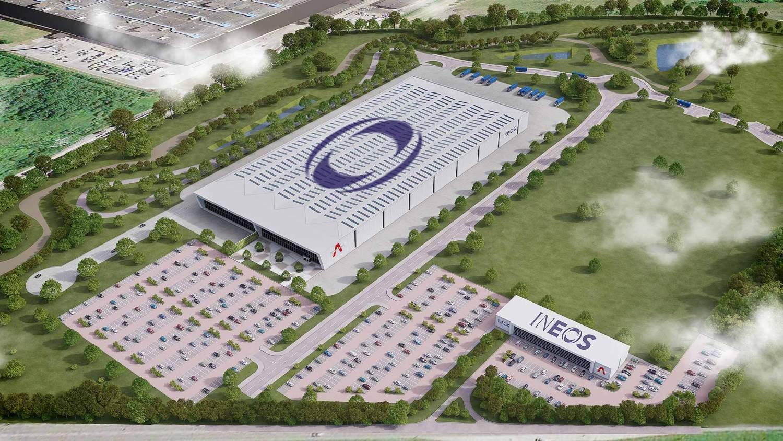 Ineos Automotive Bridgend factory - artist's impression