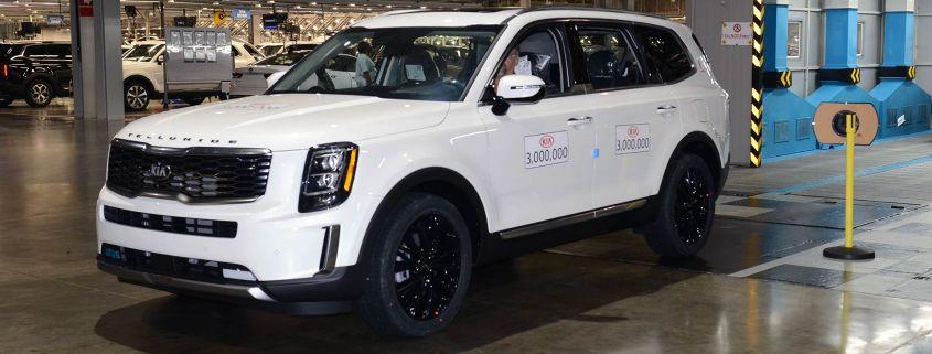 Kia produces 3 millionth vehicle in USA