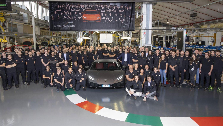 Lamborghini Huracan production record