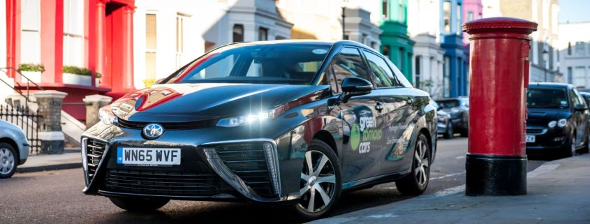 Toyota Mirai 1,000,000 miles London