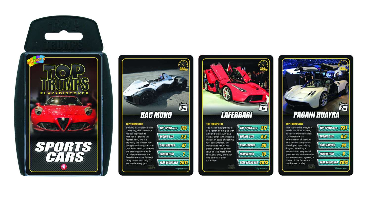 Christmas Sports Car.Top Trumps Is A Reason To Get Excited About Christmas