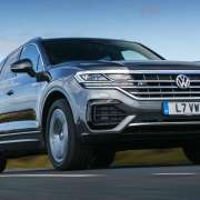 Volkswagen Touareg test drive