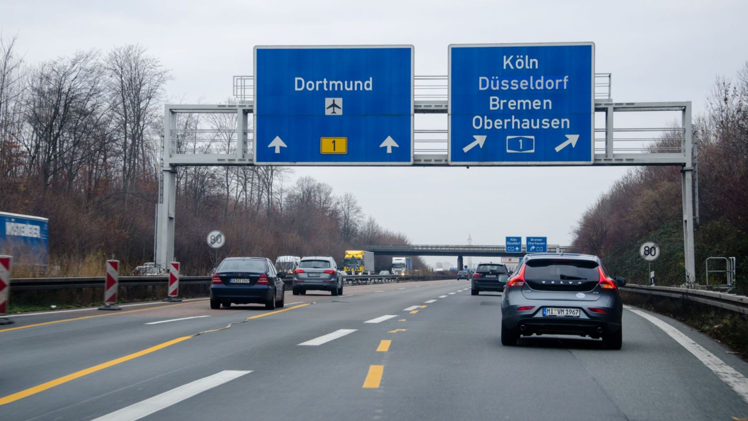 Autobahn speed limit rejected Germany