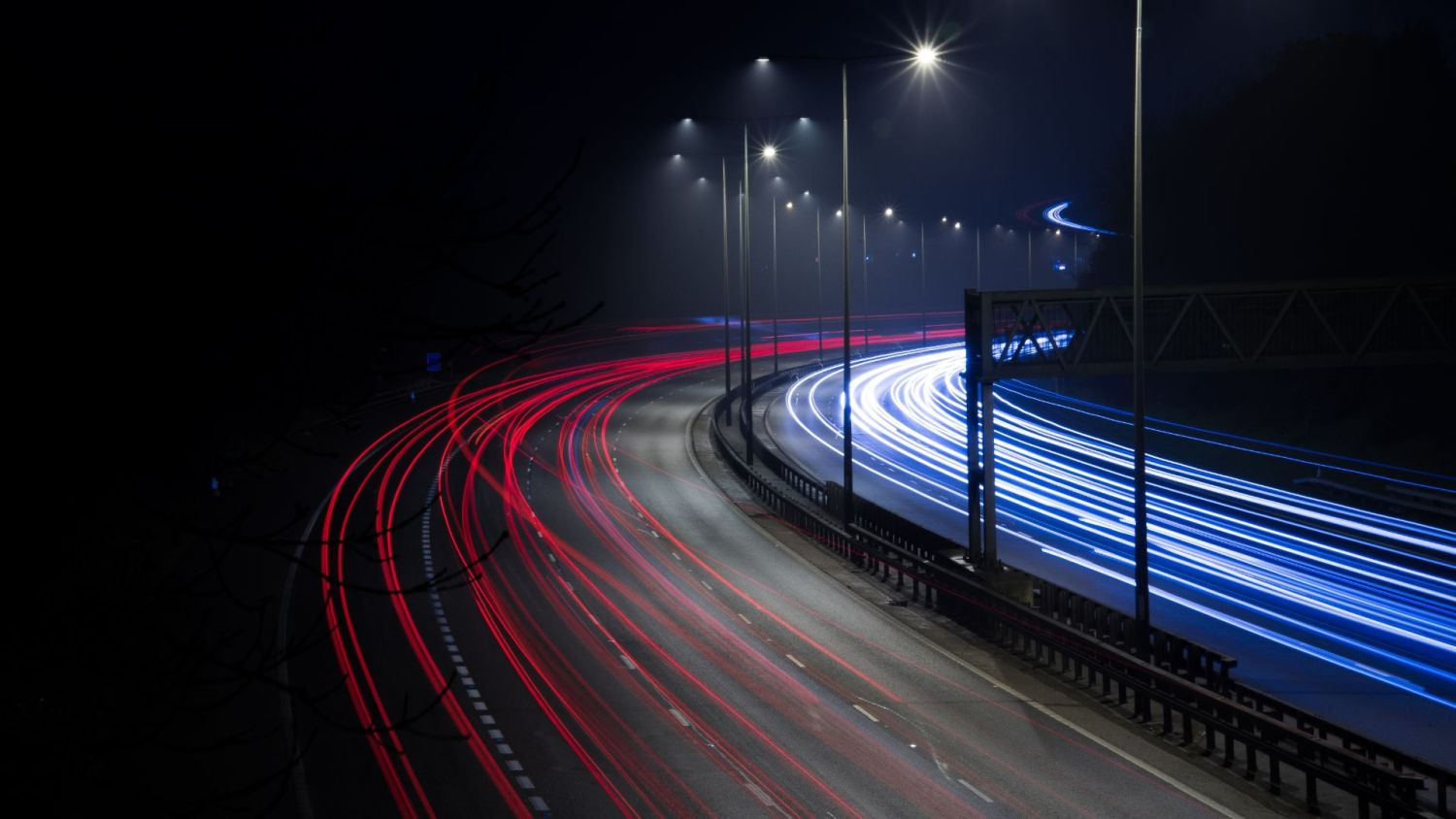 Highways England switches lights back on