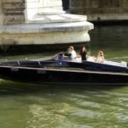 Black Swan electric boat in Paris
