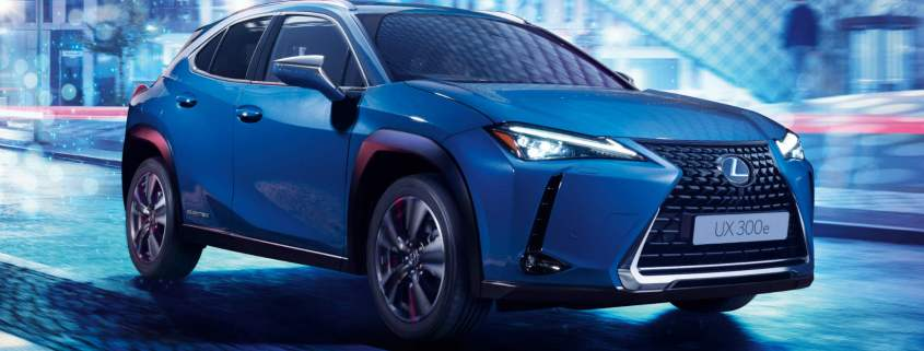 Lexus UX 300e electric car