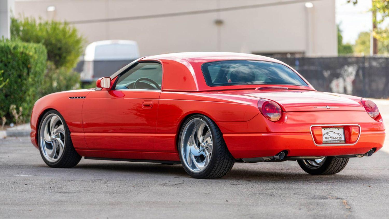 SEMA 2003 Ford Thunderbird BaT Charity Sale
