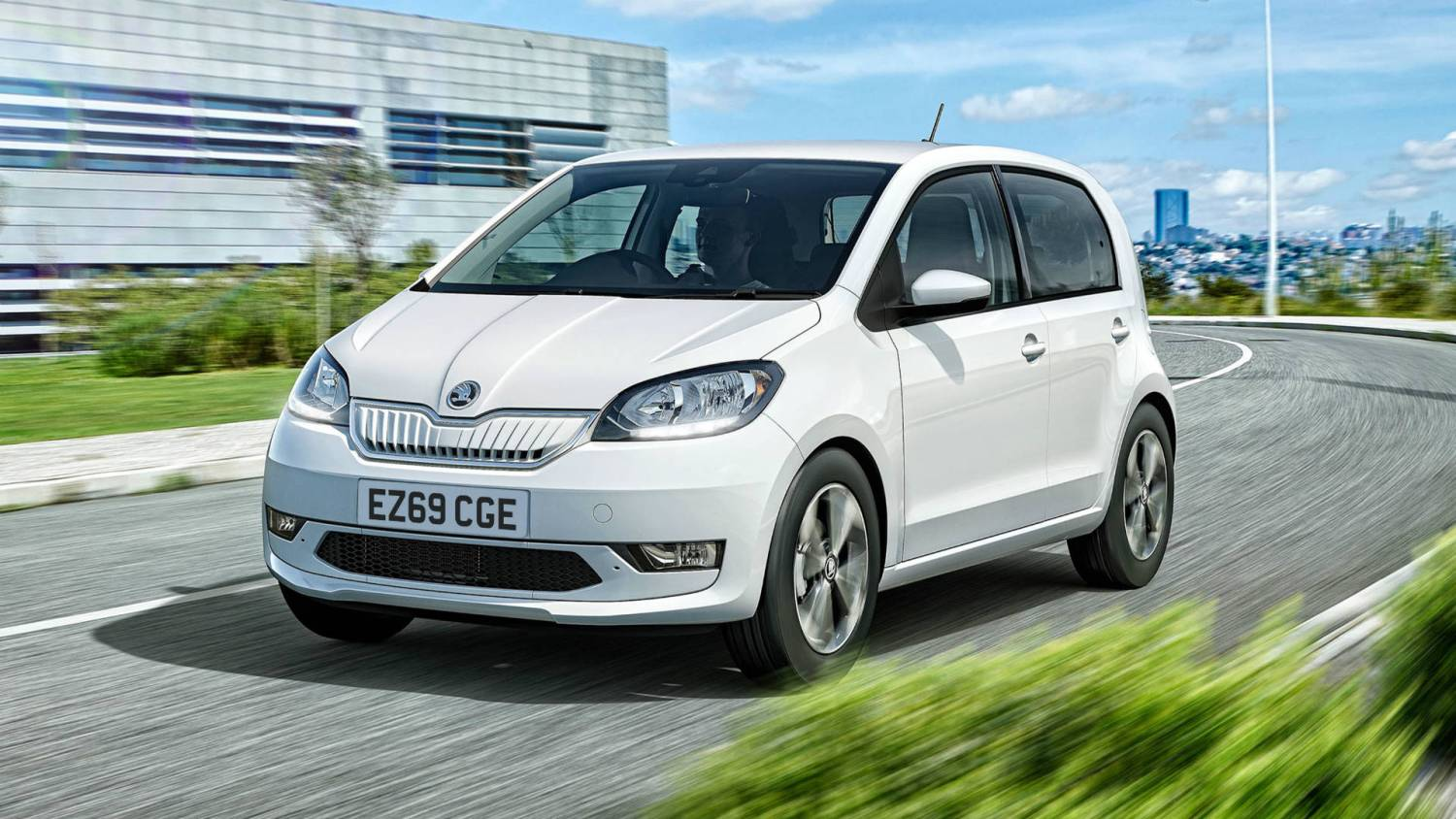 Skoda Citigo e IV electric car