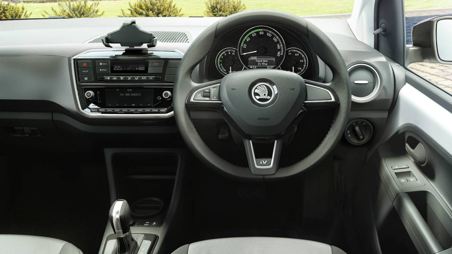 Skoda Citigo electric car interior