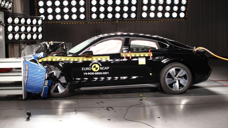NCAP results Tesla Model X and Porsche Taycan