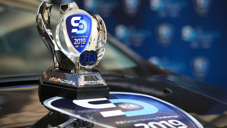 FIA Smart Driver Challenge trophy