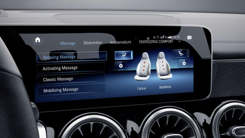 Mercedes Energising Coach