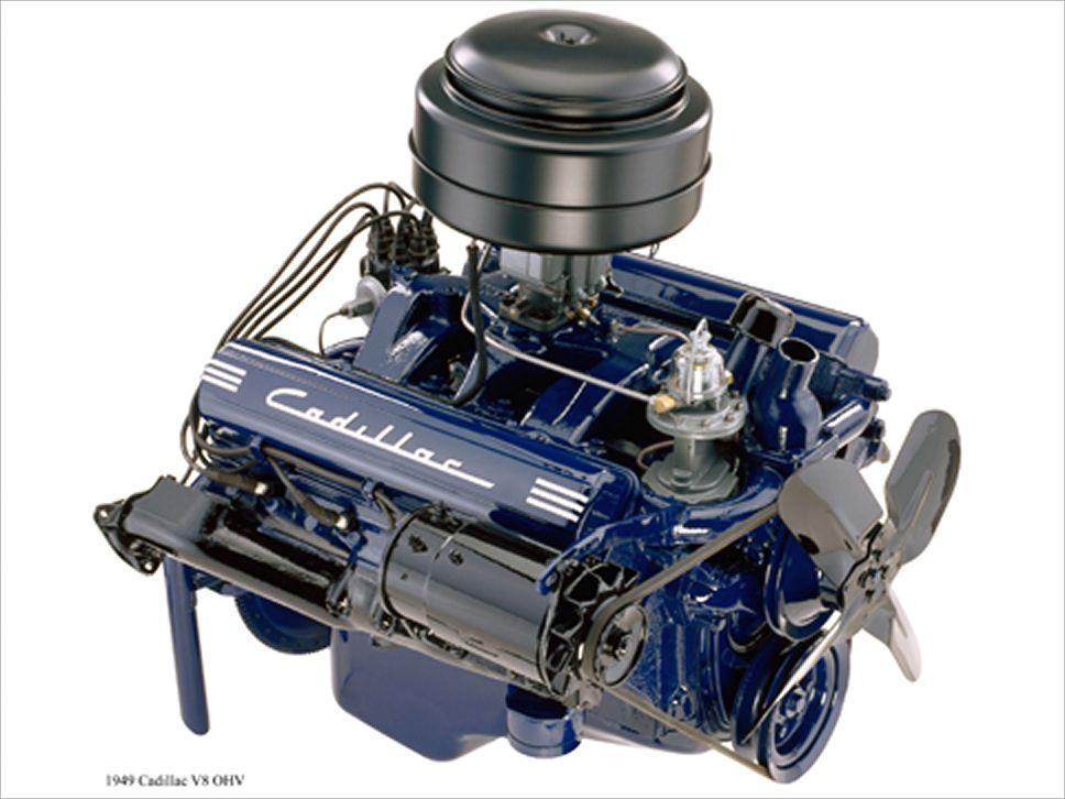 Cadillac Overhead Valve V8 Engine