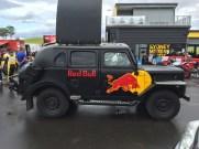 Funky Red Bull Truck