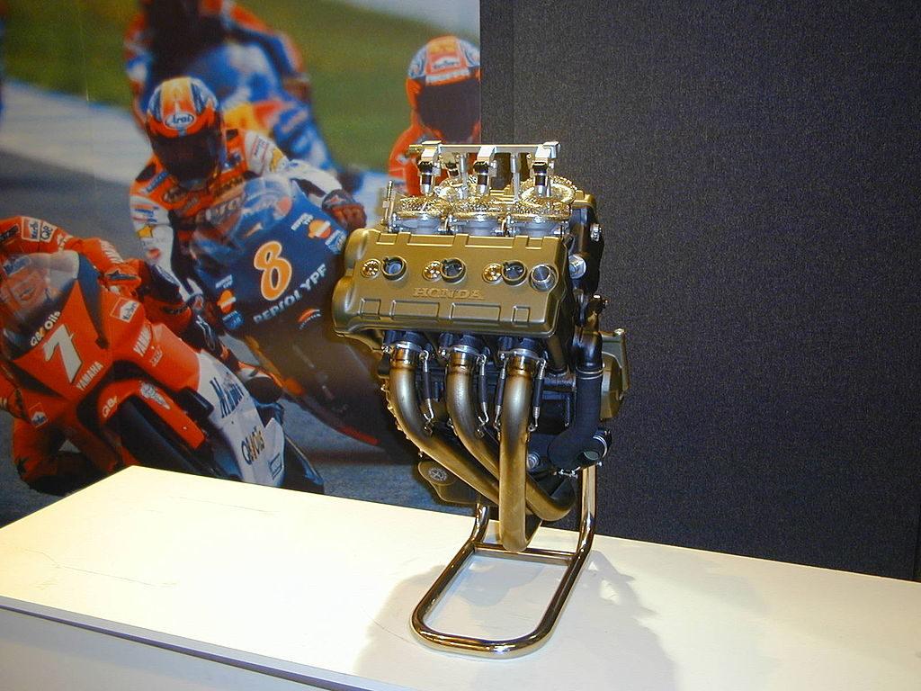 Honda V5 MotoGP Engine