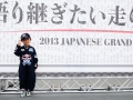 during previews for the Japanese Formula One Grand Prix at Suzuka Circuit on October 10, 2013 in Suzuka, Japan.