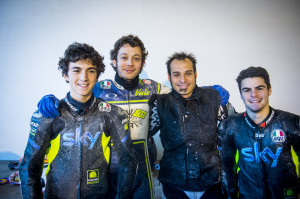 SKY RACING TEAM + VALENTINO ROSSI 2