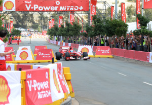 Shell Africa F1 Street Demo