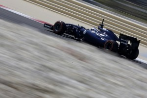 Valtteri Bottas (Williams) on track with P Zero Orange hard tyres