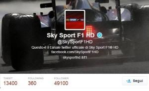 F1 HD su Twitter