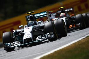 Nico Rosberg Mercedes F1 W05 Hybrid