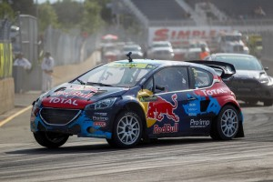 2014 FIA World Rallycross ChampionshipRound 07Trois-Rivieres, Canada8th September 2014Worldwide Copyright: Peugeot Sport/McKlein