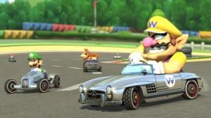 Mercedes-Benz 300 SL Roadster in Nintendo Mario Kart 8