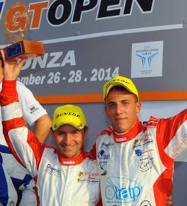 Montermini_Schirò on Saturday's podium