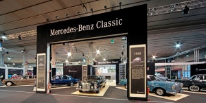 AME 2013 stand Mercedes