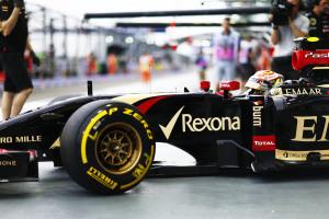 Pastor Maldonado Lotus E22 Renault