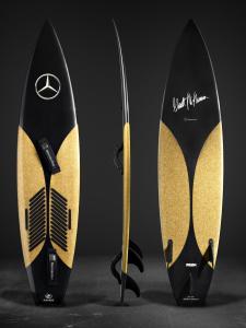 Mercedes-Benz Design entwirft Surfboards