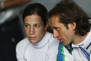 Michela Cerruti and Jarno Trulli will drive the Formula E car at the Bologna Motor Show