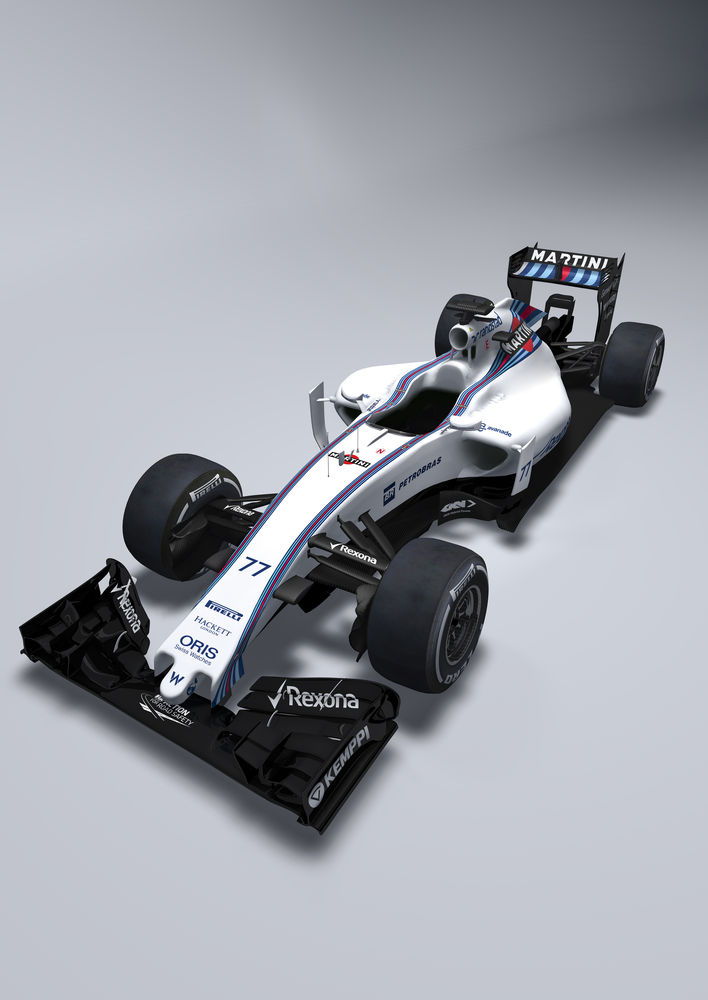 January 2015 The Williams FW37 Photo: Williams F1  ref: Digital Image FW37_2