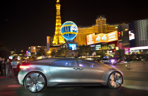World premiere of the Mercedes-Benz F 015 Luxury in Motion at the CES, Las Vegas 2015 Weltpremiere des Mercedes-Benz F 015 Luxury in Motion auf der CES, Las Vegas 2015