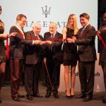 112433_Inaugurazione TridenteClub_Gian Carlo Muzzarelli, Francesco Stanguellini, Antonio Barbieri, Elena Santarelli, Giulio Pastore