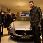 Inaugurazione TridenteClub_Matteo Rubin, Maserati Quattroporte