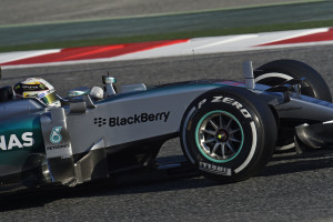 TEST BARCELLONA F1/2015