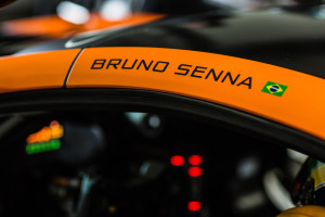 Bruno Senna- McLaren GT 650S GT3 Test