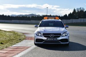 Mercedes-AMG C 63 S T-Modell als Official Medical Car der FIA Fo