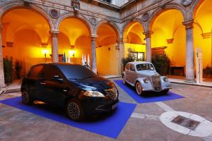 'Lancia And Women' At Palazzo Della Valle In Rome
