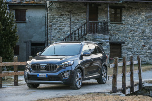 New Kia Sorento Photo:Simon Palfrader©Red-Live/Kia-Italia
