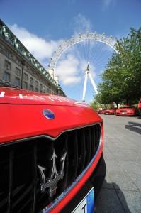 01 Maserati display at the London Eye