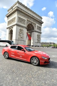 05 Maserati Ghibli arrives in Paris - 2