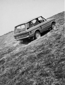 Range Rover Press Demo at Falmouth 1970 R-9833-54