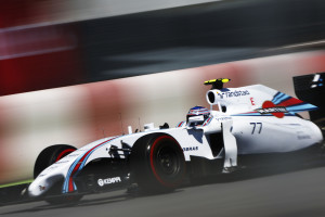Valtteri Bottas Williams FW36 Mercedes