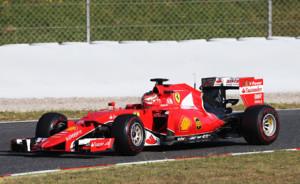 F1 Testing Barcelona, Spain 12 - 13 May 2015