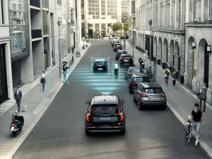 The all-new Volvo XC90 - City Safety