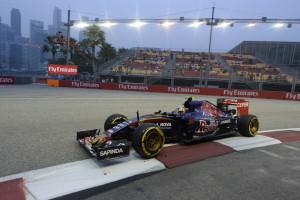 sainz GP SINGAPORE F1/2015
