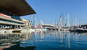 October, 2104. Genoa Boat Show.