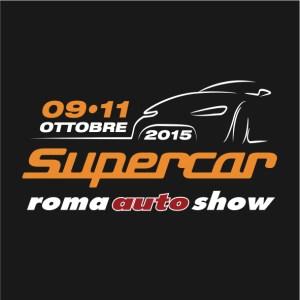 SupercarRomaAutoShow logo